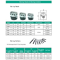 ボーリングヘッドセット 3本レンチ付横中ぐり盤用ボーリングセットの付属品(NT30-F1-18-12PCS)