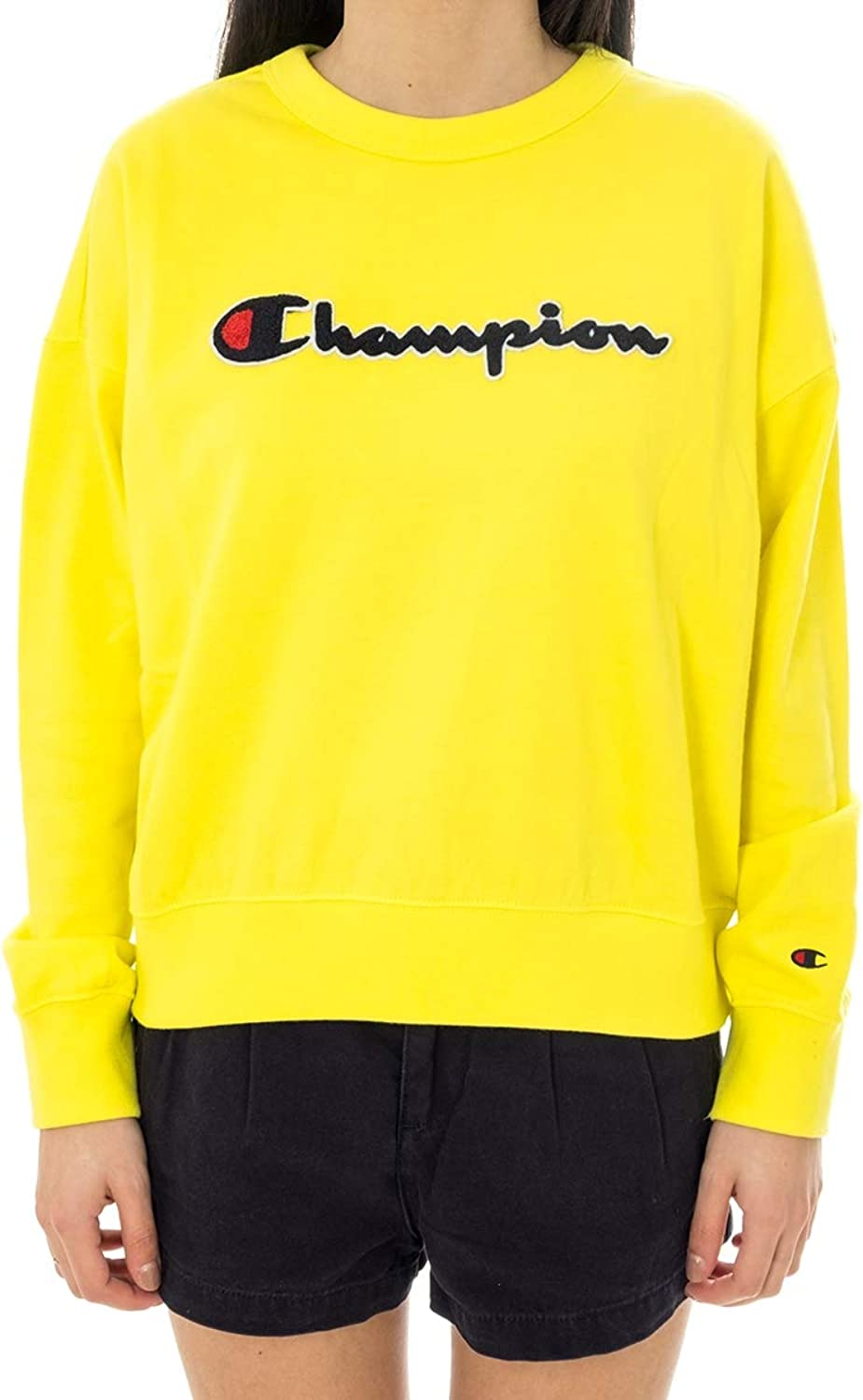Champion Sweatshirt Woman Crewneck Sweatshirt 111384.YS002BZY