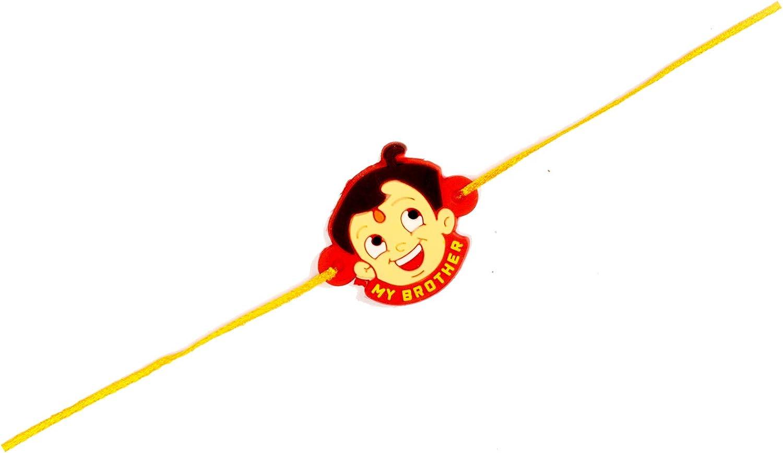 Smiley Rakhi Sweet Bro Rakhi for Brother for Raksha Bandhan Handmade Rakhi Fancy Rakhi for Kids Rakhi