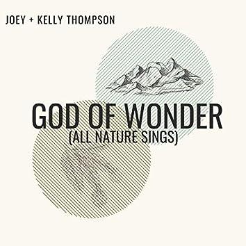 God of Wonder (All Nature Sings)
