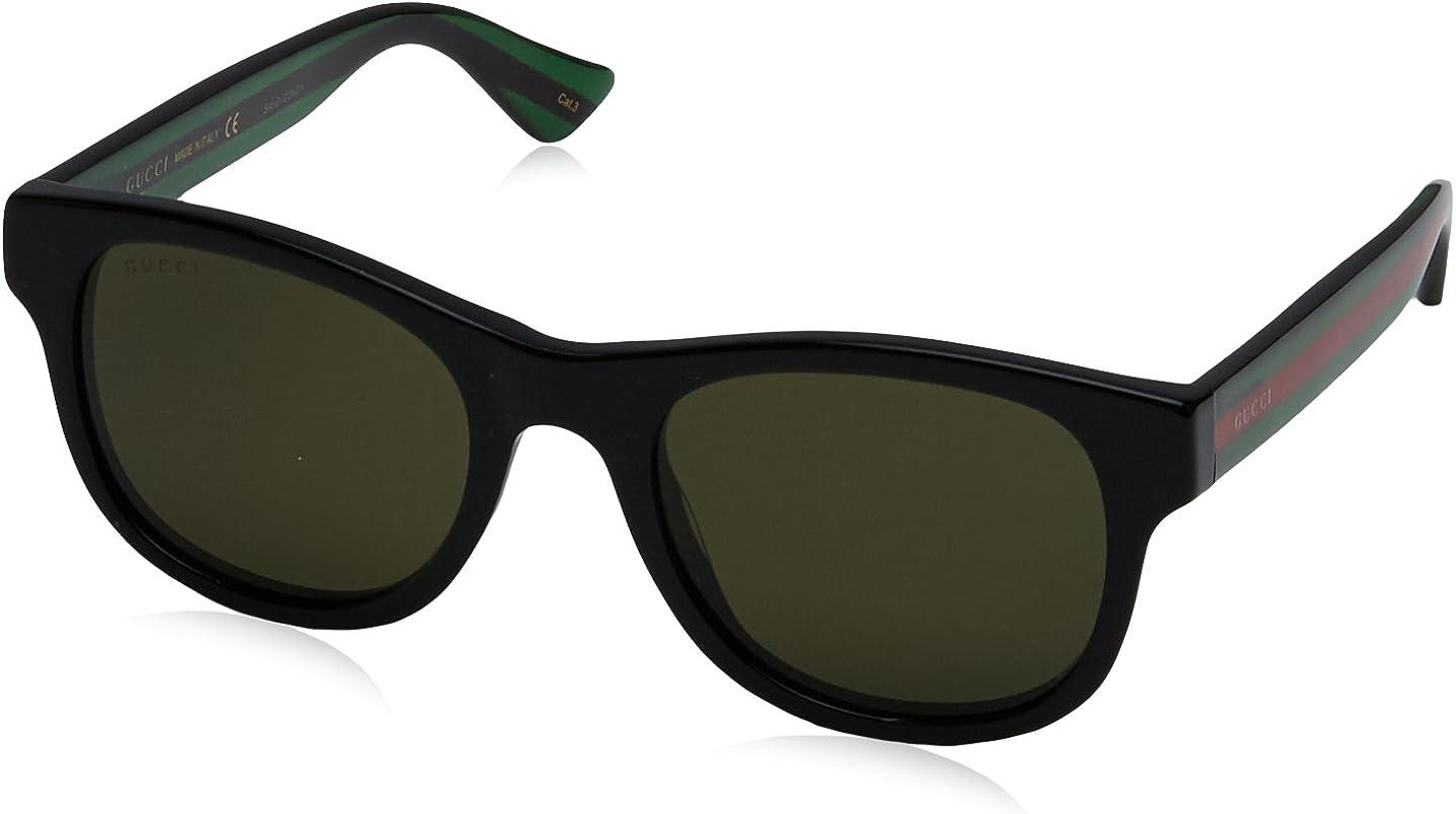 Gucci GG0003S Don't miss the campaign 002 Shiny Black Sunglasses Cat supreme Square Lens