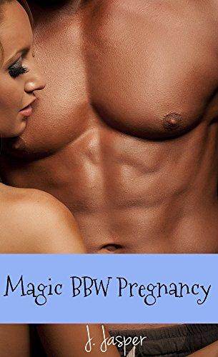 Magic BBW Pregnancy: BWWM Paranormal Witch Romance (Paranormal Pregnancy Erotica: BBW, Big Bodied Witch Book 1) (English Edition)
