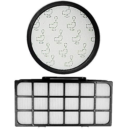 iAmoy Kit de Filtro de Espuma y HEPA ZR903701 Compatible con Rowenta RO7611 RO7634 RO7623 Silenciador Beutelloser Ciclónico Aspiradora
