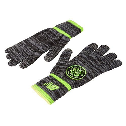 New Balance Celtic FC Adult Knitted Gloves - Official Licensed Product