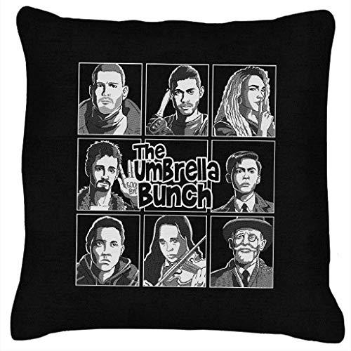 The Umbrella Bunch White Cushion