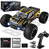 BEZGAR 1 Hobby Grade 1:10 Scale Remote Control Truck, 4WD High Speed 40+ kmh All Terrains Electric Toy Off Road RC...