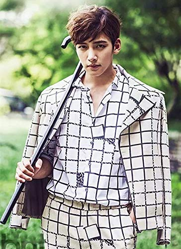 Abkaeh Imagen de Bordado, pster de Actor Estrella dolo Coreano, 5D, Bordado de Punto de Cruz, Adorno-K, Regalo del Da de la Madre_40x50