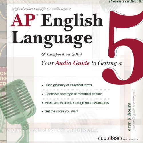 AP English Language and Composition audiobook cover art