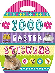 1000 easter stickers book