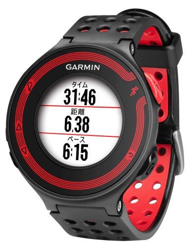 GARMIN(ガーミン) ランニングウォッチ 時計 GPS ForeAthlete 220J ブラック/レッド Bluetooth対応 【日本正...