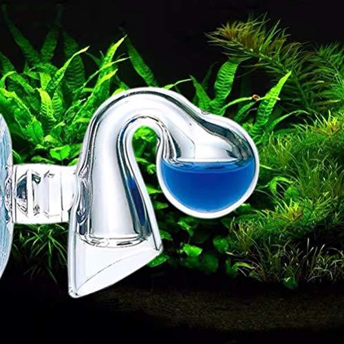 XEOGUIYA Co2 Drop Checker, Aquarium Fish Tank Drop Checker PH Test CO2 Glass Kit