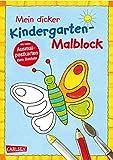 Mein dicker Kindergarten-Malblock: Kinderbeschäftigung ab 3