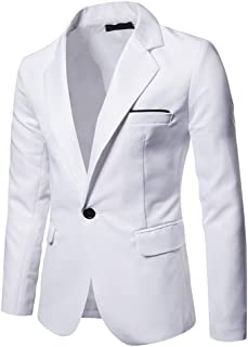 YOUTHUP Mens Blazer Slim Fit Suit Jacket Various Blazers