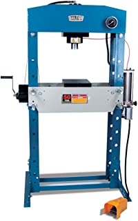 Baileigh HSP-50A Air/Hand Operated H-Frame Press, 50 Ton Capacity, 28-1/2