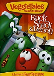 veggie tales rack shack and benny