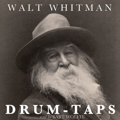Drum-Taps audiobook cover art
