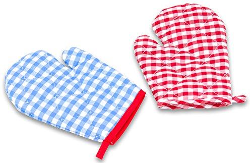 Betzold Kinder-Kochbekleidung waschbar Kochschürze oder Kochhandschuhe - Kochen Basteln