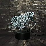 3D Nachtlichter LED Tischlampe Lava Lampe Kindheit Marvel Spider Man Gift Touch USB Basis Schalter Farbwechsel Kind Weihnachtsgeschenk Spielzeug