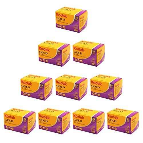 Kodak GOLD 200 24枚撮り 10本パック [並行輸入品]