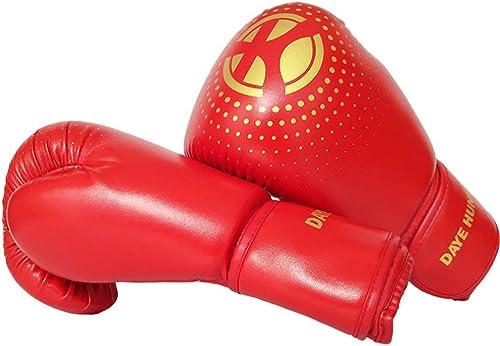 TZTED EntièreHommest Doigts Gant De Boxe Gants Tae Kwon Do Combat Design Prougeection De Boxe Hommes Et Femmes pour Sports Et Jeux De Plein Air