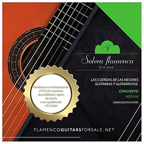 Set de Cuerdas para guitarra Solera Flamenca STRINGS CONCIERTO