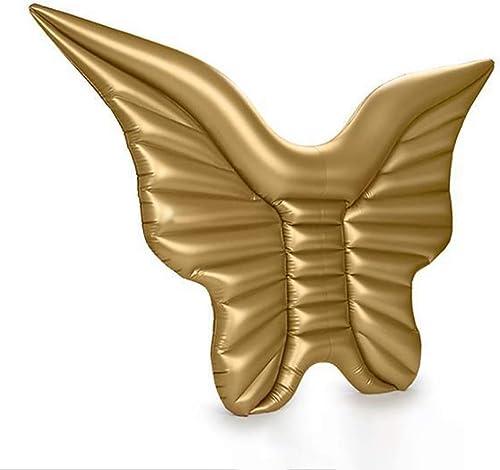 Le radeau gonflable géant de flotteur, l'ange de papillon ailes de piscine extérieure radeaux de flotteur s'assoient le salon gonflable de parcravate d'été jouent l'océan luxueux Lilo pour des adultes et