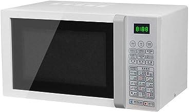 DAETNG Horno microondas Pantalla Digital de 23 litros de Capacidad Lager 800 W, 14 Recetas preestablecidas, Memoria de procedimiento, descongelación automática, Solo para tamaño estándar de Plato