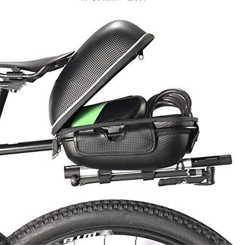 CARACHOME Alforja Bici, Bolsa De Bicicleta Multifunción 3L, Portabultos Bicicleta Ultraligera Y...