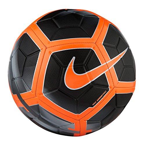 Nike SC3147 Balón de Fútbol, Unisex, Negro/Gris Oscuro/Naranja (Total Orange), XL