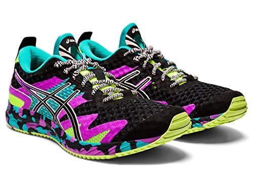 ASICS Gel-Noosa Tri 12 - Zapatillas de running para mujer, Negro (Negro/Negro), 38 EU