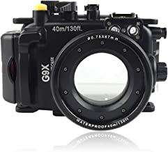Sea frogs for Canon G9X & G9X II 40m/130ft Underwater Camera Housing