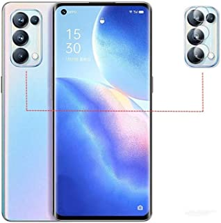 FTRONGRT camera lens protective film for Oppo Reno5 5G,transparent,ultra-thin,scratch-resistant,soft tempered glass lens p...