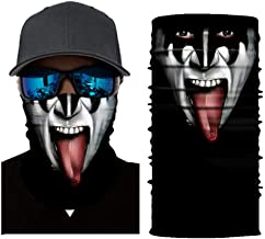 XCLWL Buff Neck 3D Schedel Naadloze Balaclava Grap...