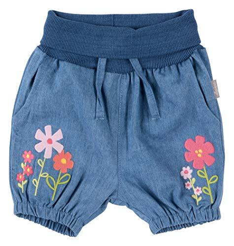 Sigikid Baby-Mädchen Shorts Hose, Blau/590, 098