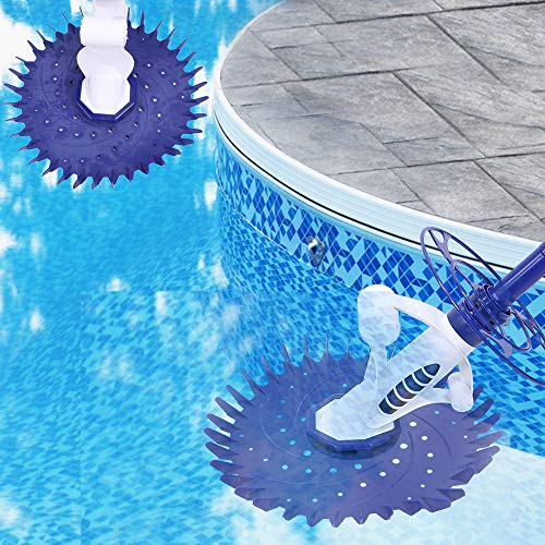 Fantastic Prices! DIY HOME Automatic Pool Vacuum Cleaner, Swimming Pool Cleaner/Sweeper Suction Vacu...