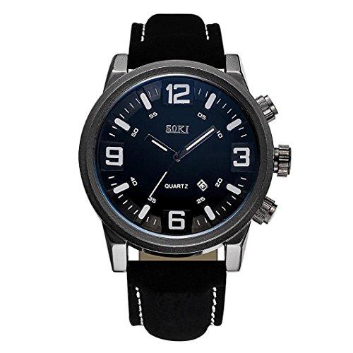 Cebbay Reloj de Liquidación Pareja Moda correa de Nylon Reloj de pulsera de...