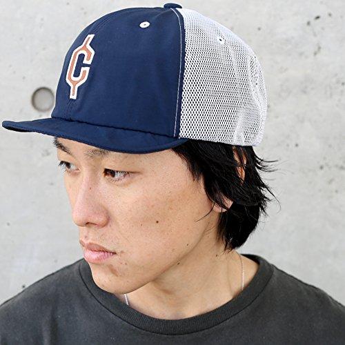 clef (クレ) 60/40 メッシュ ワイヤード ショートブリム ベースボールキャップ 帽子 6040 MESH WIRED B.CAP メッシュキャップ アウトドア キャップ <ネイビー>