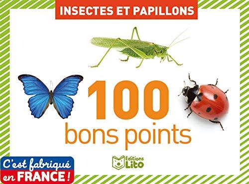 Boîte de 100 bons points : Insectes et papillons - Dès 5 ans