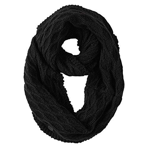 Burton Damen Schal Honeycomb Scarf, True Black, One Size