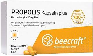 beecraft Propolis Kapseln Plus hochdosiert, 60 St. Tabletten