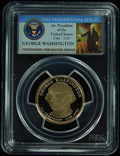 2007 S Washington Presidential Dollar PR-69 PCGS