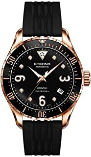 Eterna Lady KonTiki Diver Automatic Watch, SW 200-1, PVD Rose Gold, Special Ed