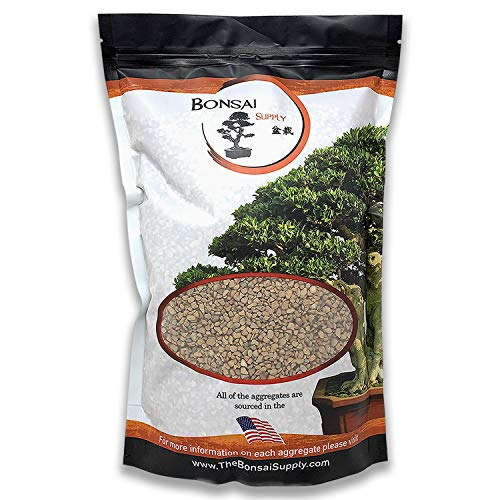 Turface for Plants - MVP - Bonsai Tree Soil - Cacti - Succulents - Calcined Clay - Additives- Aggregates - Absorbs and Releases Water- 2 Quart Bag - 1/8 inch Size Particles