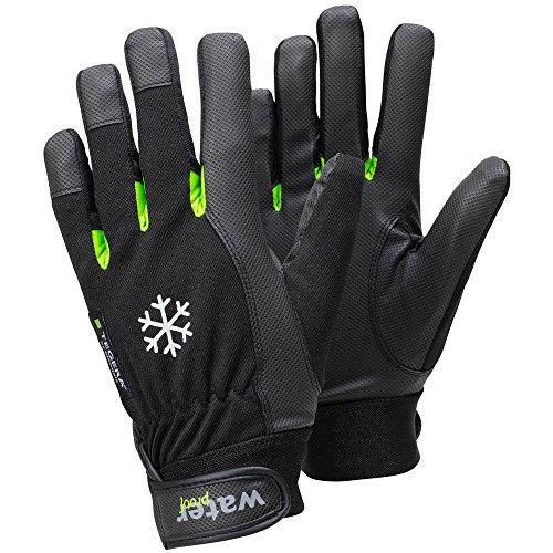Ejendals Handschuh Tegera 517 aus Synthetikleder, Größe 10, 1 Stück, schwarz/grün, 517-10