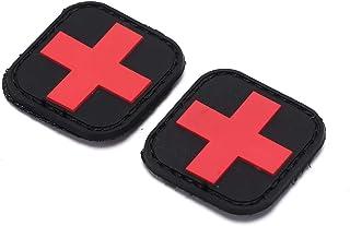 Loisirs Airsoft /Écusson Tactique Attack CCCP Beige Softair Sniper PVC avec Logo Velcro pour Coudre Le Paintball Badges de Plein air