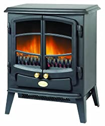 Choice of two heat settings Remote control and opening doors Real coal fuel bed Suitable for living room, lounge, dining room, bedroom, study, conservatory, dimensions- 295 D x 547 H x 440 W mm 2 kW heat output Two heat settings Flame effect only set...