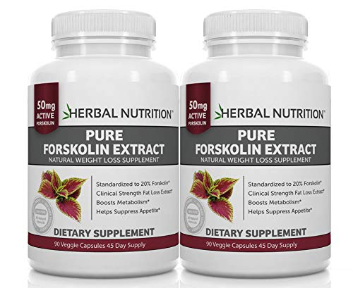 Forskolin Extract for Weight Loss by Herbal Nutrition review