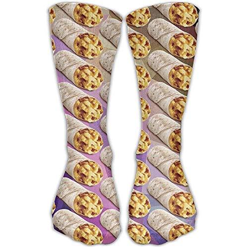 ulxjll Calcetines Taco Burrito Patrón Novedad Vestido De Tobillo Para Hombre Calzado...