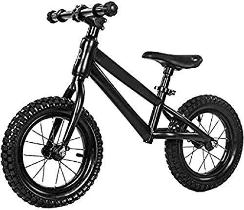 Equilibrio Bicicletas Neumáticos de goma ligera asiento ajustable niños s Bicicletas sin pedal Primer entrenamiento Bicicletas