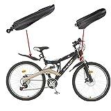 Sungpunet Juego de guardabarros delantero trasero para bicicleta de montaña, color negro